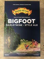 *NEW* Sierra Nevada Beer Poster - Bigfoot BarleyWine-Style Ale