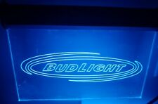 Bud Light Beer 3D Led Neon Sign Light Bar Pub Club Luminous Display Glowing