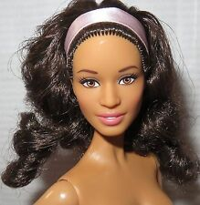 (B) NUDE BARBIE (B) ~ BRUNETTE BROWN EYES PAZETTE BIRTHDAY WISHES DOLL FOR OOAK