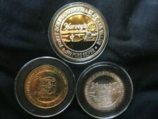 Harvey's Casino Lake Tahoe  ( 3 Coin Set )