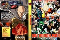 Anime (English Dubbed) One Punch Man DVD Season 2 HD Vol.1-12 DVD -Ship from USA