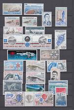 Französische Antarktis Lot aus den Jahren 1983-1991 ** fast komplett, postfrisch