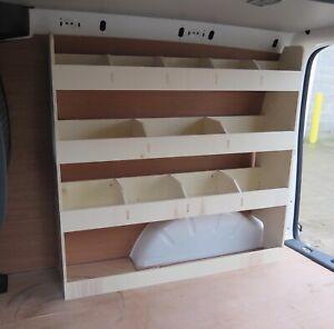 VW Caddy SWB - Plywood Van Racking Van Shelving Tool Storage, Driver side