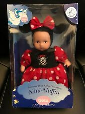 "Gotz Mini-Muffin Doll Minnie Mouse Disney Park Exclusive Rare 8"""