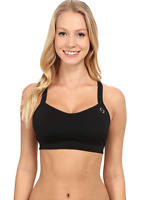 Brooks Women's Black UpRise Crossback Bra Running Size S 11010