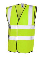 Cyclist High Visibility Vest Small High Vis Hi Viz Cycle Biker Waist Coat Jacket