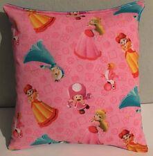 Mario Brothers,Princesses Pillow HANDMADE, Mario Brothers, Super Mario, Nintendo