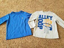 toddler boy shirts size 2t, basketball shirt, blue performance top