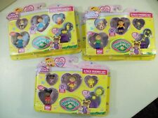 LOT OF 3 NEW CABBAGE PATCH KIDS LITTLE SPROUT FRIENDS SET FIGURE PACKS MINIATURE