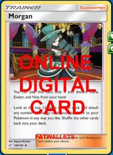4X Morgan 149/181 Pokemon Online Card TCG PTCGO Digital Card