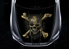 Pirates Of The Caribbean Car Hood Wrap Color Vinyl Sticker Decal Fit Any Car