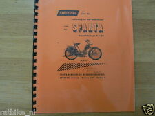 S0205 SPARTA---HANDLEIDING---BROMFIETS TYPE FP 50-MODELYEAR ABOUT--1957
