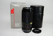 VIVITAR DL 75-205MM F3.8-4.8 MC LENS FOR M/MD