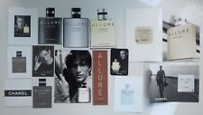 Lot cartes à parfumer CHANEL  Allure Homme
