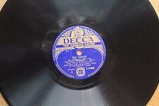 DECCA SUPREME 78 RPM - EDMUNDO ROS & RUMBA BAND - THE PARROT/CAVAQUINHO - 1940s