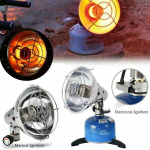 Portable Camping Propane Butane Gas Heater Tent Heating Stove with Stand Outdoor