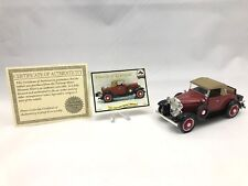 National Motor Museum Mint 1931 Chevy Sports Cabriolet 1:32