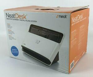Neat Company NeatDesk Desktop Scanner and Digital Filing System - New / Open Box