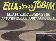 JAZZ / ELLA ABRAÇA JOBIM, ELLA FITZGERALD E A. CARLOS JOBIM (album 2 LP, 1981)