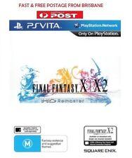 Final Fantasy X & X-2 HD Remastered PS Vita PAL Brand New *AU STOCK*