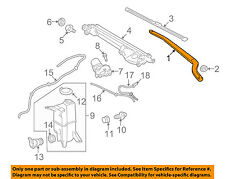 TOYOTA OEM 07-15 Tundra Windshiled Wiper-Front Arm 852110C020