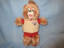 "vintage Teddy Ruxpin 13"" plush bear stuffed animal 1988"