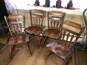 **RARE** Set Of Four: Cushman Colonial Creations Chairs