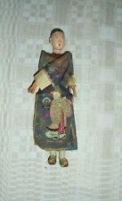 ORIENTAL ANTIQUE MALE  DOLL JAPANESE 1900-1915