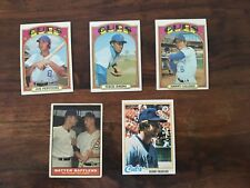 Cubs Assorted Lot Including Jenkins And Drabowsky