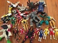 Lot of Vintage 1990's Bandai Mighty Morphin Power Rangers items