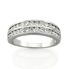 9ct White Gold Diamond Ring.