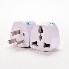 UK/US/EU Universal to AU AC PowerPlug Adapter Travel 3pin Converter Australia AT