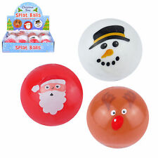 Christmas Children's Party Loot Bag / Stocking Fillers - 3 x Xmas Splat Balls