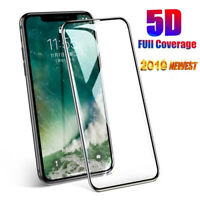 3x For iPhone 11 Pro Max 2019 5D Full Cover Tempered Glass Screen Protector Film