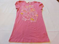 Roxy Girl's Youth Short Sleeve T Shirt High Pitch-PS Pink Size M medium NWT