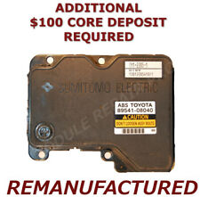 REMAN 2001 2002 2003 Toyota Sienna ABS Pump Control Module EBCM >EXCHANGE<