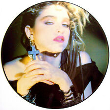 "Ultra Rare! Madonna Holiday / Think of Me 12"" Picture Disc lp vinyl"