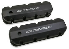 Holley 241-281 Chevy Bowtie Fabribcated Valve Covers Big Block Chevy V8's