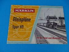 Marklin 763/2 Gleispläne Spur HO Book 1955