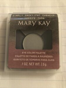 MARY KAY MINERAL EYE SHADOW COLOR PALETTE GORGEOUS NEW DIscontinued Grays Silver