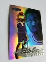 Kobe Bryant 1998-99 ☆FLAIR SHOWCASE POWER☆ Refractor #3 2 *SHOWTIME* MINT HOF'er