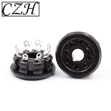 CZH 8pin Bakelite K8A  EL34 5881 6SN7 6V6 KT88 Vacuum Tube Socket Audio AMP DIY
