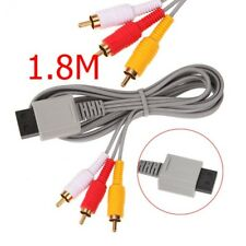 RCA Component Composite Audio Video Stereo Cable for Nintendo Wii Game Console