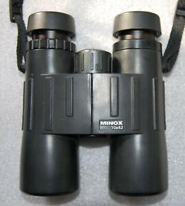 Fernglas Minox BL 10x42 BR Asph. Gebrauchtware mit Tasche