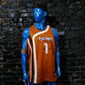 Harlem Globetrotters Jersey Sleeveless Basketball And1 Polyester Mens Size M