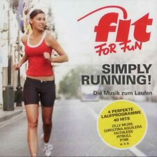 Fit For Fun - Simply Running! Die Musik zum Laufen - Doppel CD Pop, Compilation