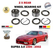 für Toyota Supra 3.0 24V Turbo Bi 1986> NEU 2x Hinterrad Radlagersatz Set