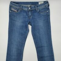 Diesel Lowky Wash 008IG_Stretch W31 L34 blau Damen Designer Denim Jeans Hose VTG
