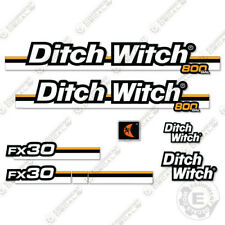 Ditch Witch FX30 Decal Kit Vacuum Excavator Replacement Decals FX 30 FX-30