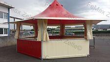 Verkaufsstand Marktstand Grillstand FeMax 23,4m² / Rundumtheke